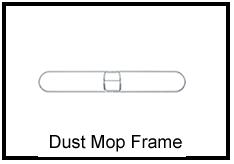 Dust Mop Frame