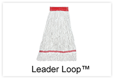 Leader-Loop-Mop-Button