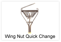 Wing Nut Quick Change