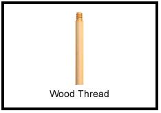 Wood Thread Handle